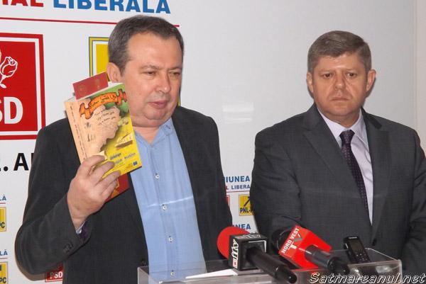 """Valer Marian și Octavian Petric pregătesc """"Legea loialității"""""""