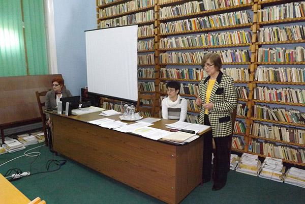 Bibliotecarii au participat astăzi la prima întâlnire profesională din acest an