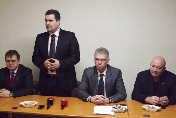 Gabriel Leş a fost instalat în funcţia de director executiv la APIA Satu Mare