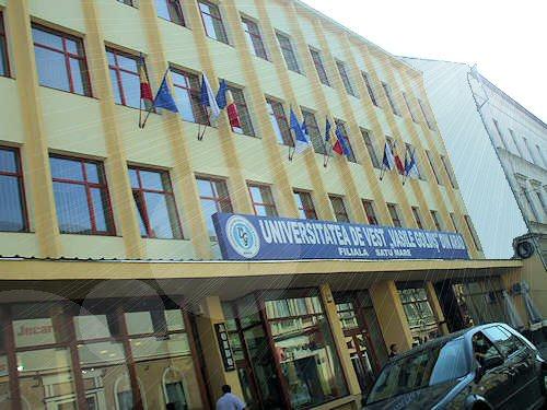 Percheziții DGA la Universitatea Vasile Goldiș Satu Mare (11 persoane audiate)