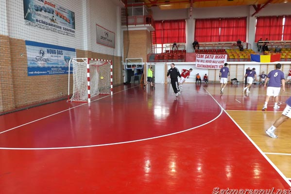 Handbal: CSM Satu Mare – Unirea Sânnicolau Mare 45-36