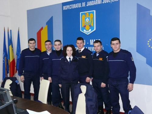 Şapte studenţi în stagiul de practică la Jandarmeria Satu Mare