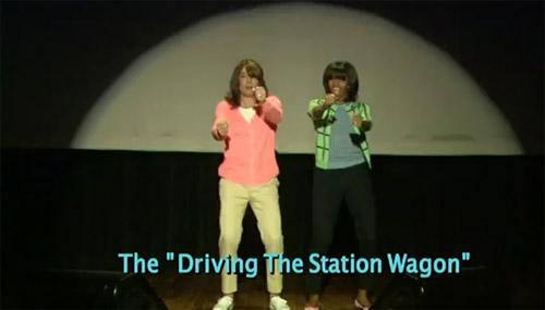 Dansul interpretat de Michelle Obama hit pe YouTube