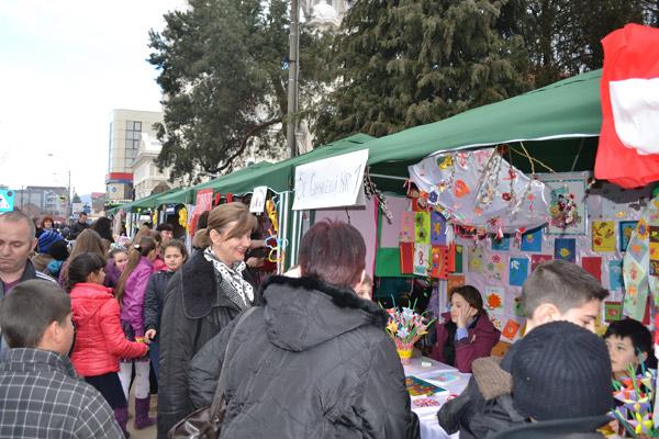 La Negreşti-Oaş s-a deschis Târgul Mărţişorului Tradiţional