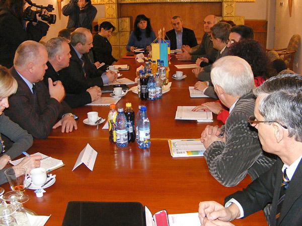 Delegaţie din Transcarpatia, în vizită la Satu Mare