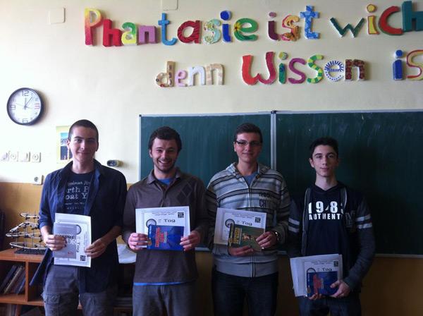 """Târgul de Stiinta """"Ziua PI"""" la Liceul German"""