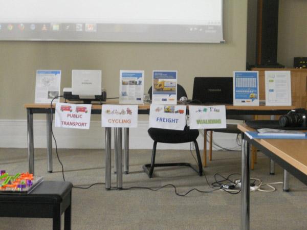 Viceprimarul Marcela Papici a participat la un seminar internaţional pe tema transportului urban
