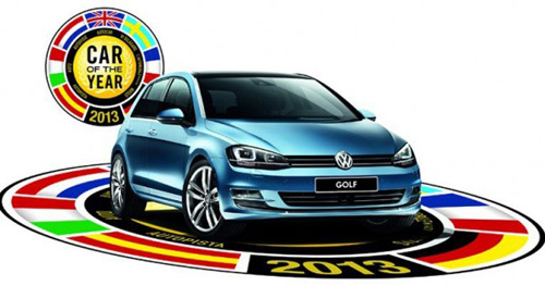 VW Golf, maşina anului 2013