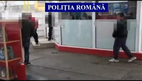 Poliţiştii au prins hoțul de la benzinărie (video)