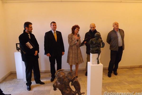 Expoziţie retrospectivă din lucrările sculptorului Radu Ciobanu
