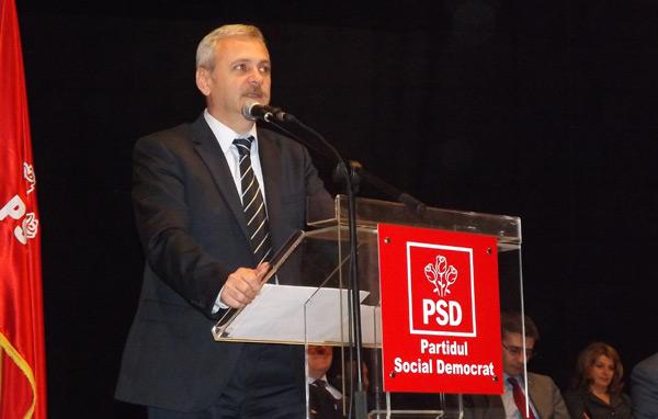 Președintele interimar al PSD, Liviu Dragnea, vine la Satu Mare