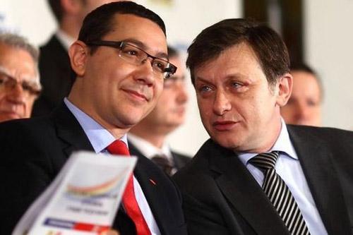Antonescu nu vrea să mai apară public alături de Ponta