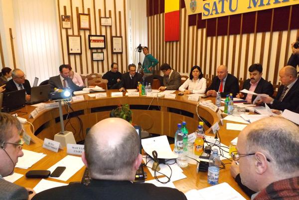 Consilierii municipali au adoptat statutul zonei metropolitane