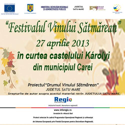 """Programul """"Festivalului Vinului Sătmărean"""""""