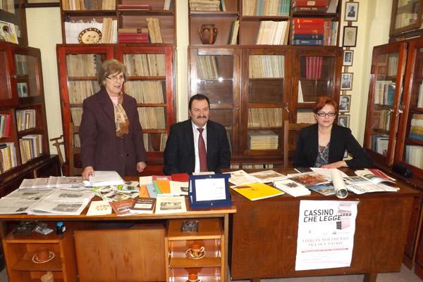 Biblioteca Judeţeană Satu Mare a deschis o filială în Italia