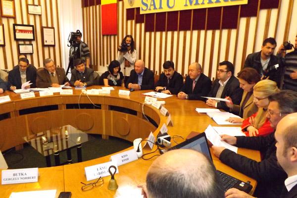 Aprobarea bugetului municipiului Satu Mare a fost amânată