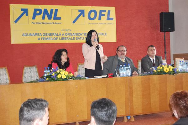 Marcela Papici a fost reconfirmata in functia de presedinte a OMFL Satu Mare