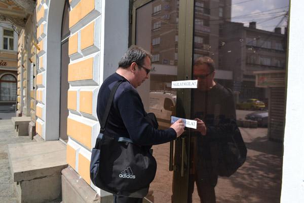 Valer Marian a sigilat sediul PSD Satu Mare