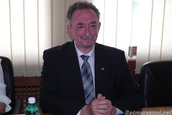 Ambasadorul Republicii Macedonia la Bucureşti, a efectuat azi o vizită în municipiul Satu Mare