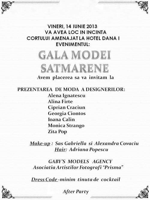 Gala Modei Sătmărene