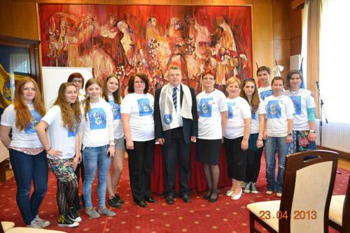 "Proiect multilateral ""Comenius"" 2011-2013"
