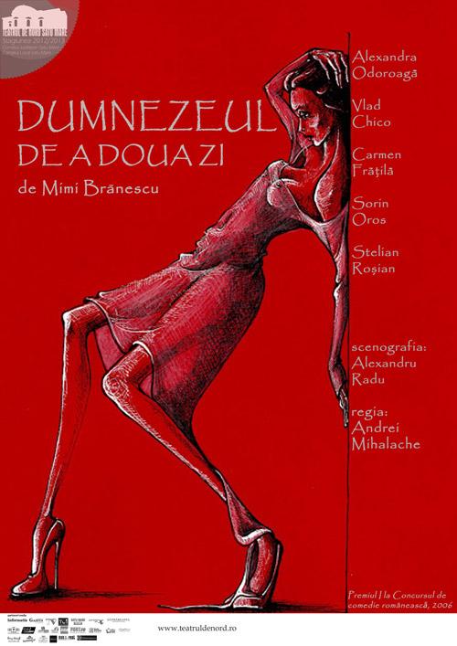 """""""Dumnezeul de a doua zi"""", pe scena Teatrului de Nord Satu Mare"""