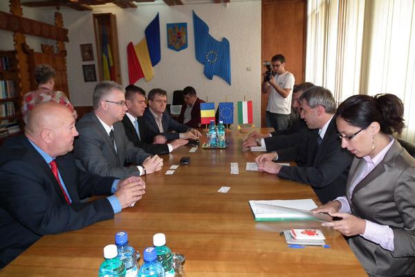Consulul general al Ungariei la Cluj, în vizită la Satu Mare