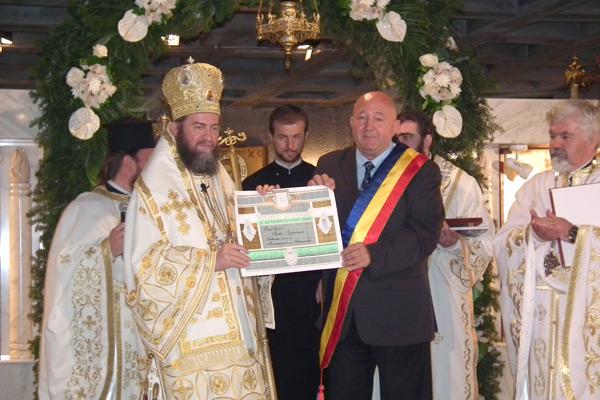 Iustin Sigheteanul a devenit cetăţean de onoare al municipiului Satu Mare