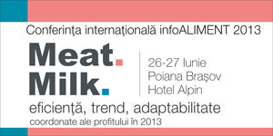 Meat & Milk 2013 – Teme de strict interes, discutii libere, invitati de marca!