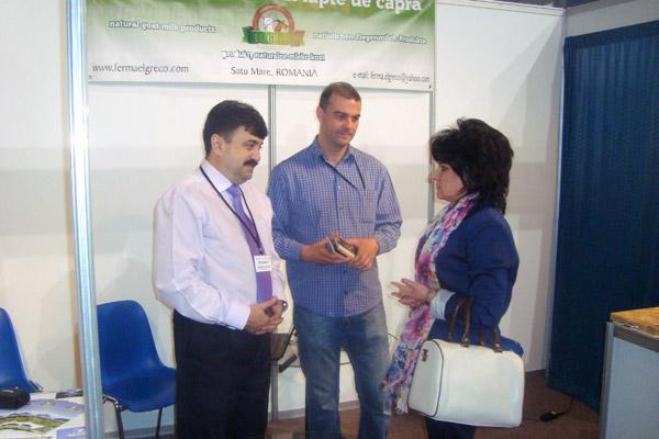 """Viceprimarul Radu Roca a participat la Târgul Internaţional de Produse Organice """"Ecogala"""""""