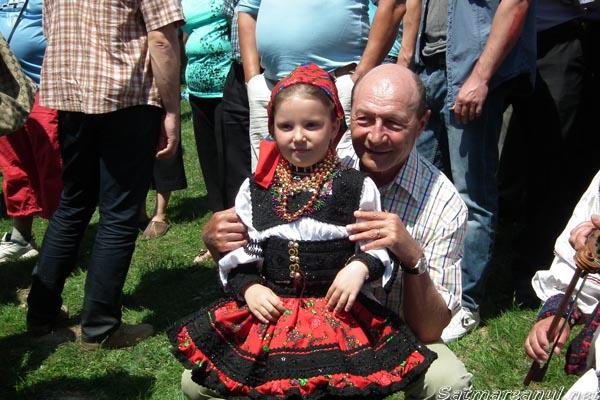 """Președintele României, Traian Băsescu, vine duminică la """"Sâmbra Oilor"""""""