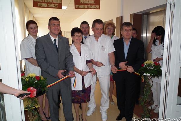 Lucrările de reabilitare a secţiilor de Pediatrie şi Chirurgie Infantilă au fost finalizate
