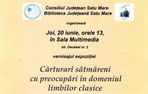 Expoziţie foto-documentară şi lansare de carte la Biblioteca Judeţeană