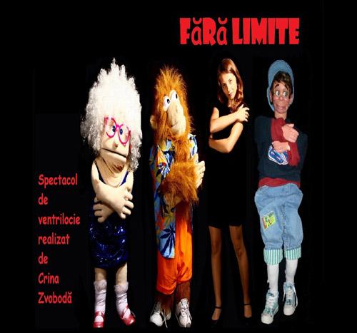 Spectacol de ventrilocie, duminică, pe scena din Piaţa 25 Octombrie