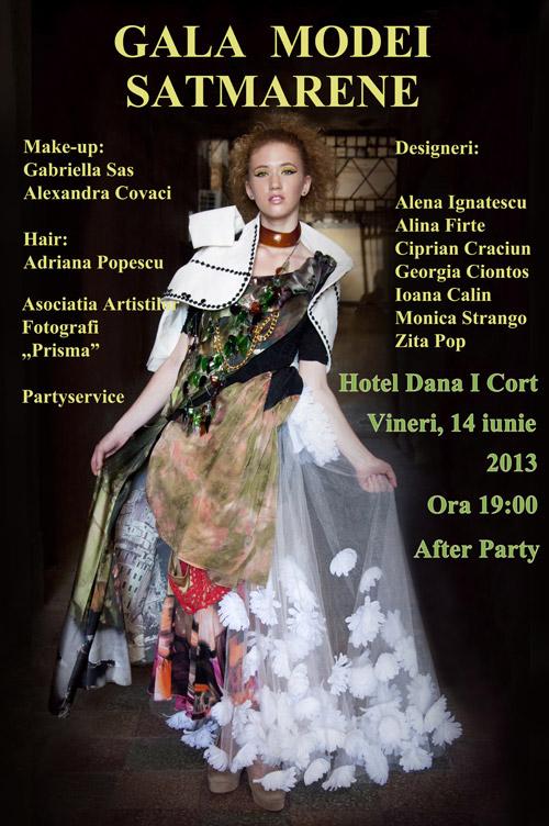 """Prima ediţie a """"Galei Modei Sătmărene"""" va fi organizată în cortul Hotelului """"Dana I"""""""