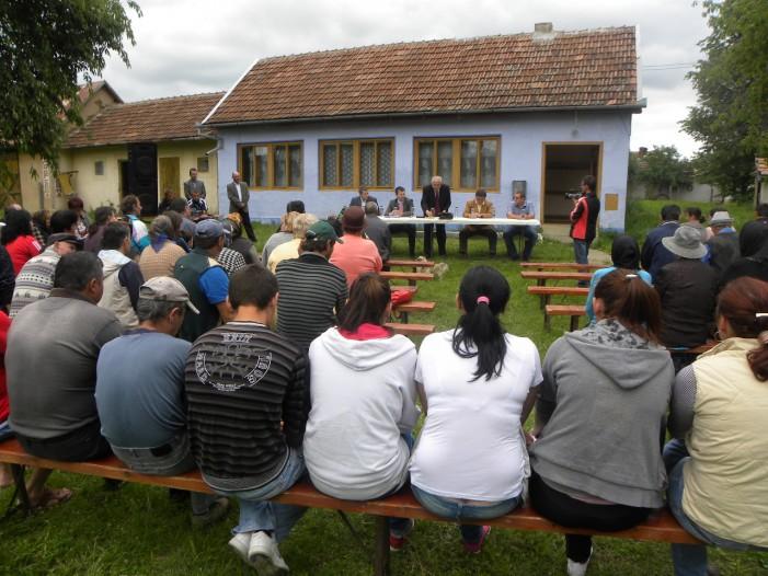 Prefectul a participat la adunarea sătească de la Ianculești