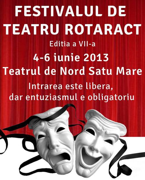 """Festivalul de Teatru """"Rotaract"""", la a VII-a ediţie"""