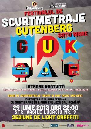 Festival de Scurtmetraje Gutemberg la Satu Mare