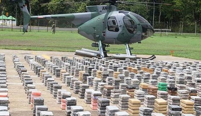 Cum arată un miliard de dolari în cocaină?