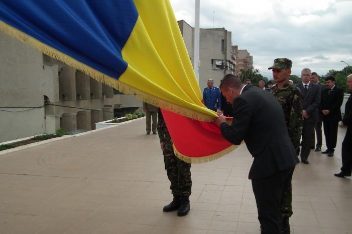 """""""Ziua Drapelului Naţional"""" a fost marcată şi la Satu Mare"""
