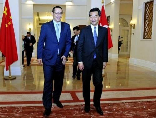 Victor Ponta și-a început vizita în China