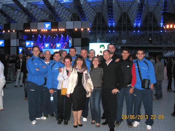 """Delegaţie din Satu Mare la Festivalul internaţional """"Stadionul European al Culturii"""""""