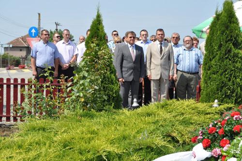 Adrian Ştef a participat la zilele a trei localităţi din judeţ
