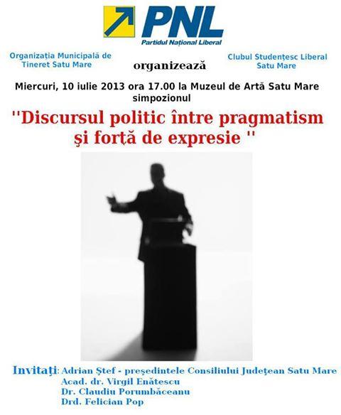 Simpozion despre discursul politic, la Muzeul de Artă