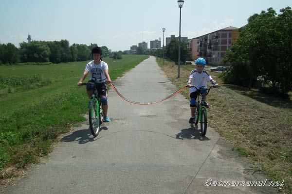 A fost inaugurată pista de biciclete Satu Mare – Fehergyarmat