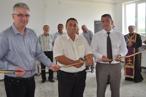 Adrian Ştef a participat la inaugurarea unei brutării în Batarci
