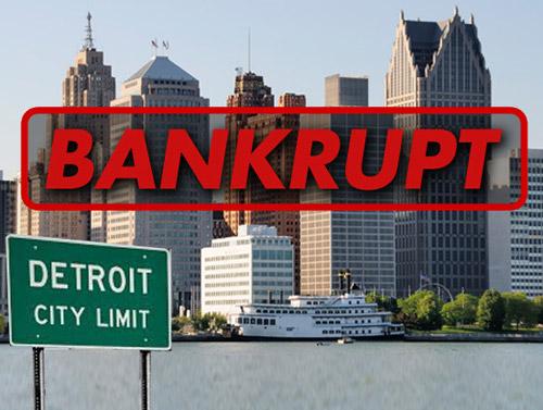 Oraşul Detroit a intrat în faliment