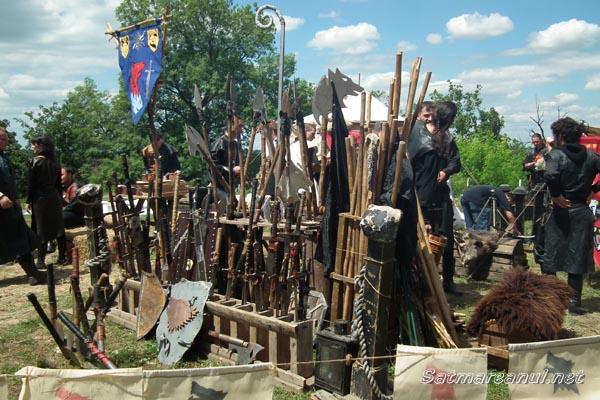 Festivalul Medieval Ardud – sărbătoare cu cavaleri, paji, doamne şi domniţe