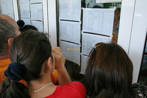 S-au afişat rezultatele finale la concursul pentru ocuparea posturilor didactice