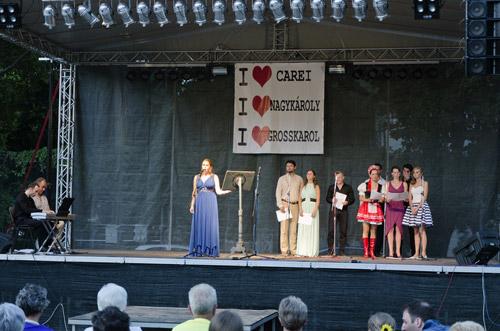 """Seară de operetă la Festivalul """"August Fest"""" din Carei"""
